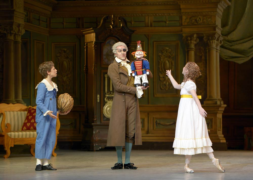"""Staatsballett Berlin in <I>The Nutcracker</I>.<br />© <a href=""""http://www.moving-moments.de/"""">Bettina Stoess</a>. (Click image for larger version)"""