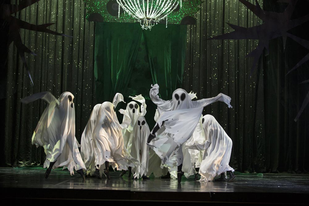 Dance of the ghosts in The Fable Maker.© Costin Radu. (Click image for larger version)