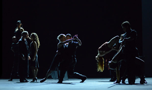 Sidi Larbi Cherkaoui's <I>Milonga</I>.<br />© Dave Morgan. (Click image for larger version)