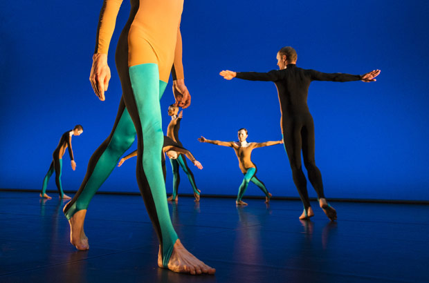 The legs of Benjamin Warbis + the company in <I>Albatross</I>.<br />© Foteini Christofilopoulou. (Click image for larger version)