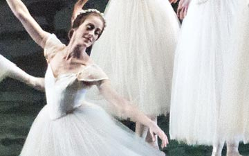 American Ballet Theatre in Les Sylphides.© Gene Schiavone. (Click image for larger version)