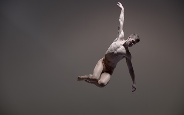 Ed Pearce of BalletBoyz The Talent 2013.© Hugo Glendinning. (Click image for larger version)