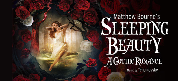 Poster image for Matthew Bourne's <I>Sleeping Beauty</I>.<br />© Image by Hugo Glendinning.