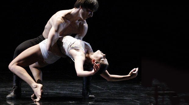 Baltic Dance Theatre in <I>The Rite of Spring</I>.<br />© Krzysztof Mystkowski. (Click image for larger version)