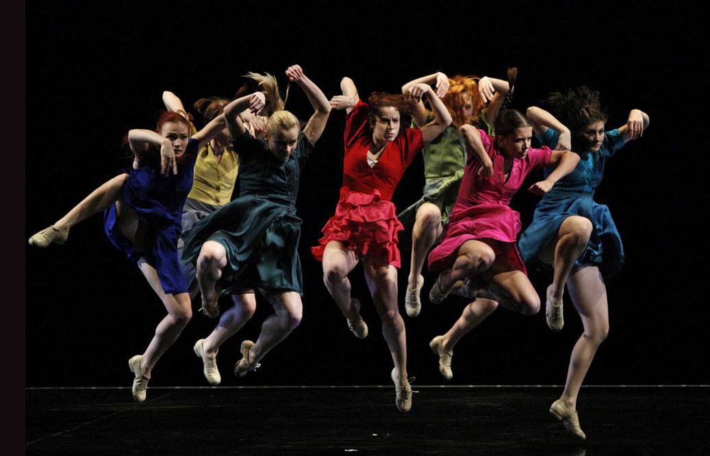 Baltic Dance Theatre in The Rite of Spring.© Krzysztof Mystkowski. (Click image for larger version)