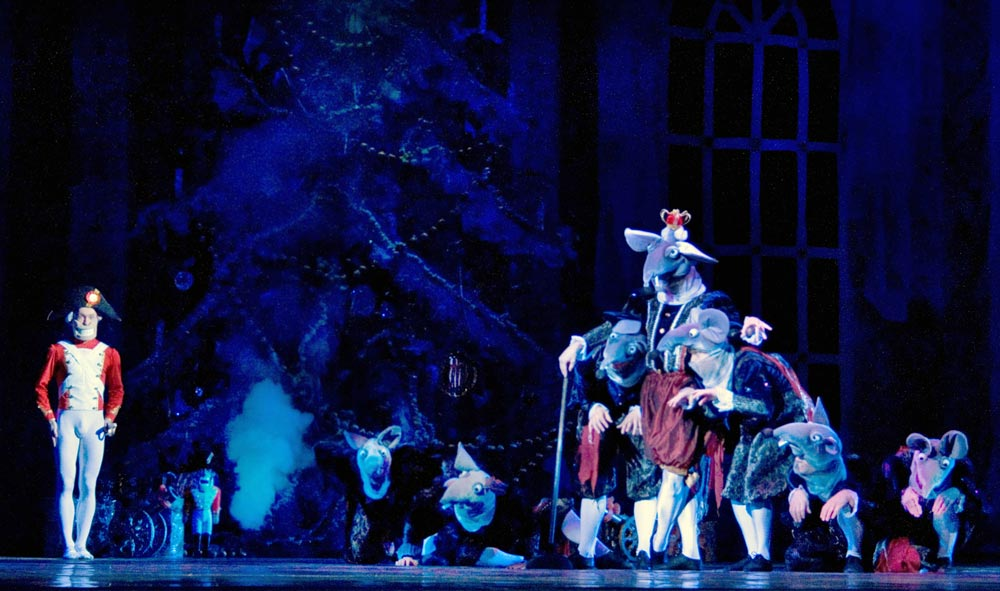 Russian State Ballet of Astrakhan in <B>The Nutcracker</B>.<br />© Marina Panova. (Click image for larger version)