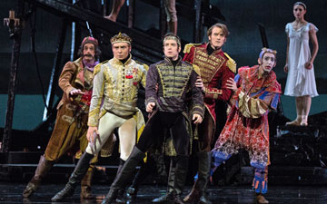 American Ballet Theatre in The Tempest.© Marty Sohl. (Click image for larger version)