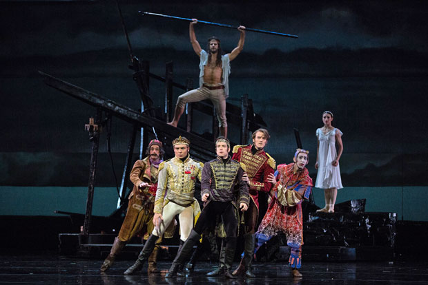 American Ballet Theatre in <I>The Tempest</I>.<br />© Marty Sohl. (Click image for larger version)