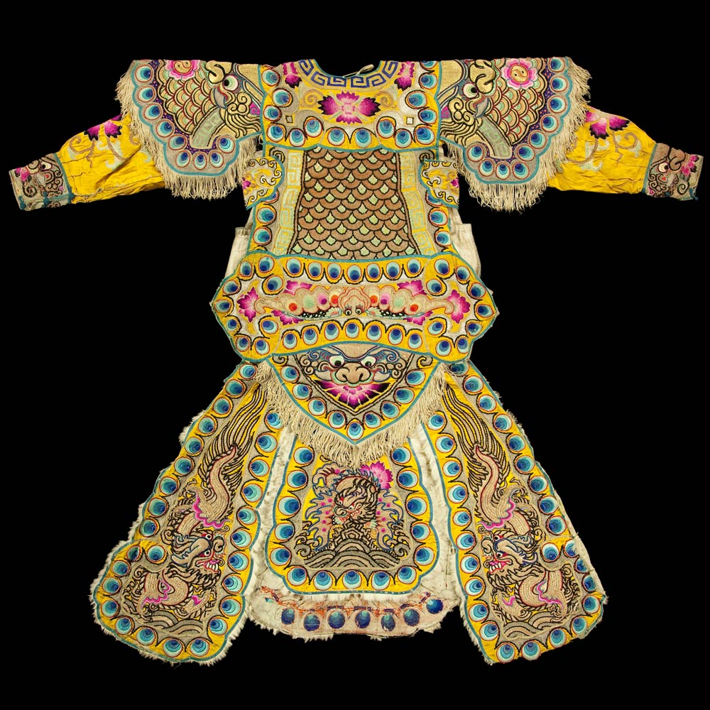 Theater costume, China, early 20th century.<br />© CNCS / Photo Pascal Francois. (Click image for larger version)