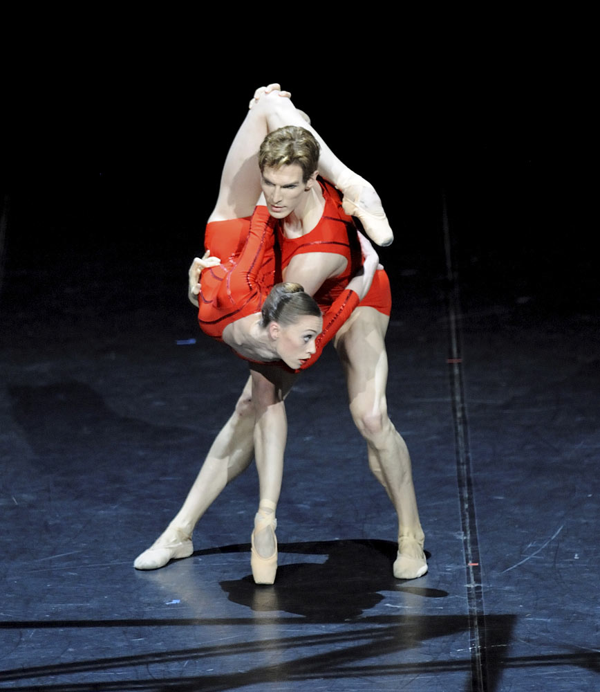 Picture as provided by Sadler's Wells/Stuttgart: Unstated dancers in unstated dance work photographed by unstated photographer with unstated/unknown copyright.