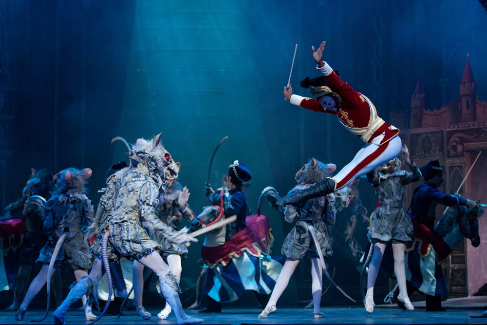 English National Ballet in <I>The Nutcracker</I>.<br />© ASH. (Click image for larger version)