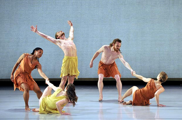 Mark Morris Dance Group in <I>Socrates</I>.<br />© Gene Schiavone. (Click image for larger version)