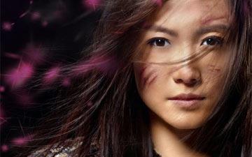 Poster for Mulan.© Hong Kong Dance Company. (Click image for larger version)