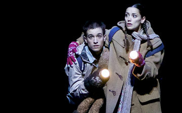 Sophie Martin and Constant Vigier in Christopher Hampson's Hansel & Gretel.© Andy Ross. (Click image for larger version)