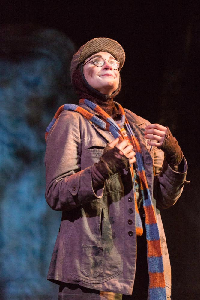 Clemmie Sveaas as Mole in The Wind in the Willows.© Johan Persson. (Click image for larger version)