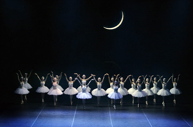 Russian State Ballet of Astrakhan in <I>Swan Lake</I>.<br />© Marina Panova. (Click image for larger version)
