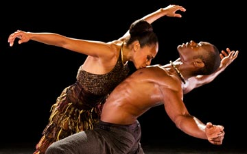 Linda Celeste Sims and Jamar Roberts in Aszure Barton's LIFT.© Paul Kolnik. (Click image for larger version)