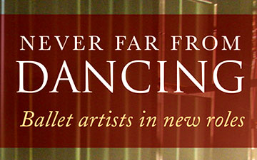 Never Far from Dancing book cover.© Routledge. (Click image for larger version)