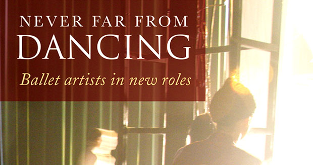 <I>Never Far from Dancing</I> book cover.<br />© Routledge. (Click image for larger version)