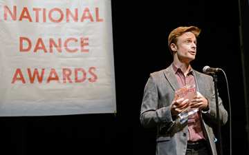 Christopher Wheeldon, Classical Choreography winner.© Dave Morgan. (Click image for larger version)