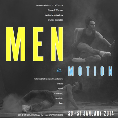 Men in Motion Poster. © Ivan Putrov.