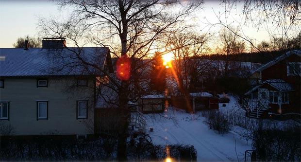 A northern sunrise.<br />© Jarkko Lehmus. (Click image for larger version)