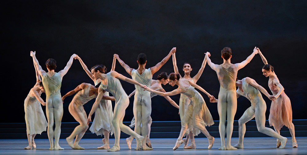 Royal Ballet in Rhapsody.© Dave Morgan, courtesy the Royal Opera House. (Click image for larger version)