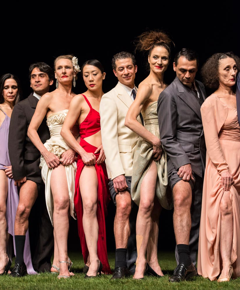 Tanztheater Wuppertal Pina Bausch in <I>1980</I>.<br />© Foteini Christofilopoulou. (Click image for larger version)