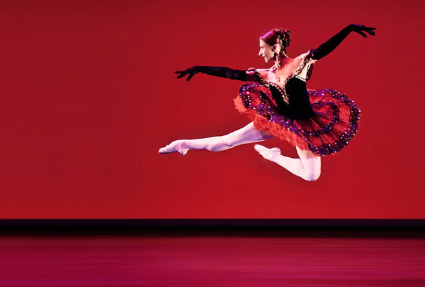 """Daria Klimentova in Christopher Hampson's <i>TBA</i>.<br />© Pavel Hejny and taken from Bruce Marriott's review of the <a href=""""http://www.ballet.co.uk/magazines/yr_10/may10/bm_rev_daria_klimentova_prague_gala_0310.htm"""">2010 Daria Klimentova Gala in Prague</a> for Balletco. (Click image for larger version)"""