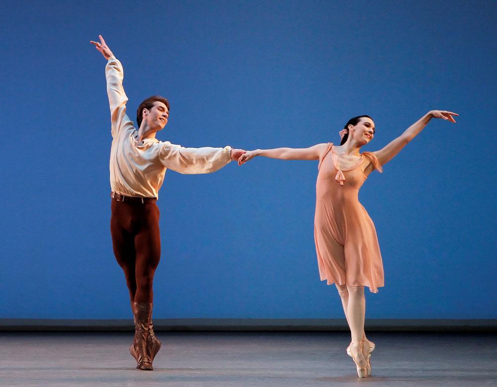 Jenifer Ringer and Gonzalo Garcia in Dances at a Gathering.© Paul Kolnik. (Click image for larger version)