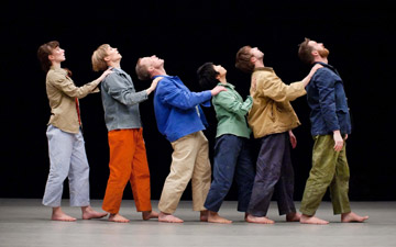 Theo Clinkard dancers in Ordinary Courage.© Pari Naderi. (Click image for larger version)