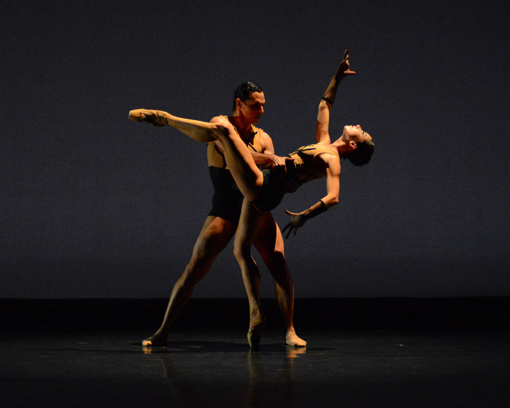 Ekateryna Derechyna and Luis R. Torres in <I>PRISM</I>.<br />© Paul Wegner. (Click image for larger version)