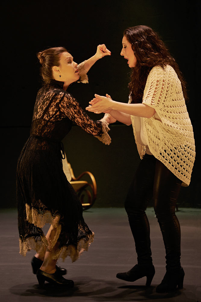 "Rocio Molina and Rosario ""La Tremendita"" in <I>Afectos</I>.<br />© Anna Lee Campbell. (Click image for larger version)"