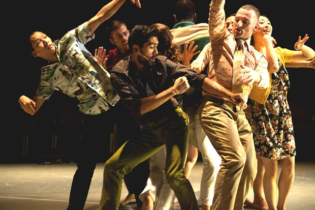 Protein Dance in <I>Border Tales</I>.<br />© Chris Nash. (Click image for larger version)