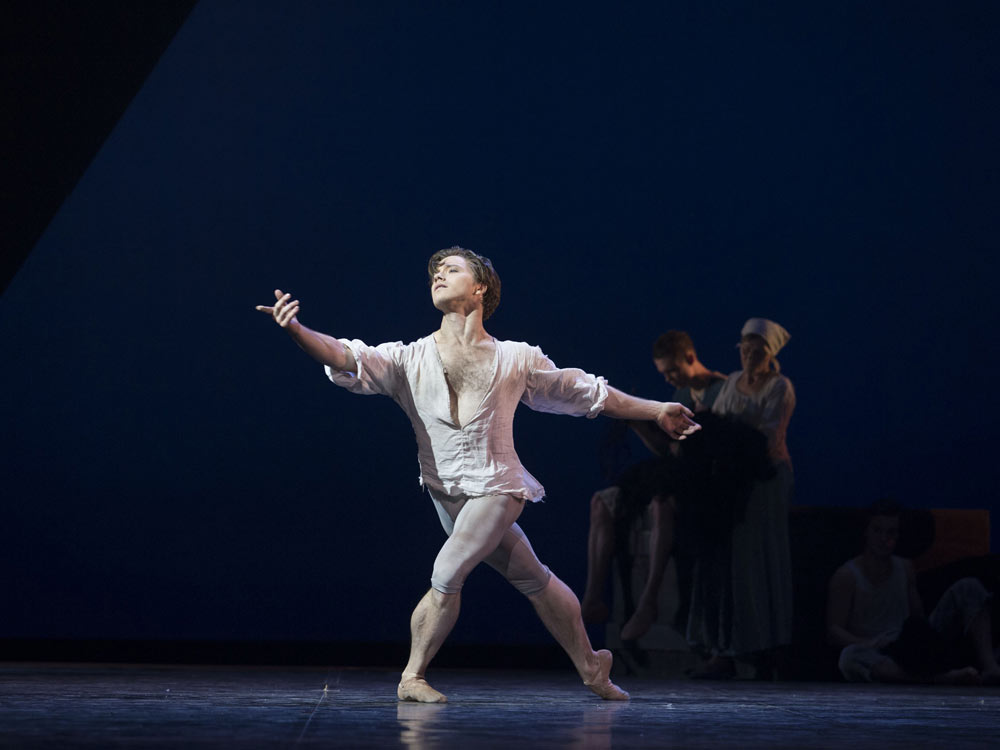 Alban Lendorf in <I>Manon</I>.<br />© Costin Radu. (Click image for larger version)