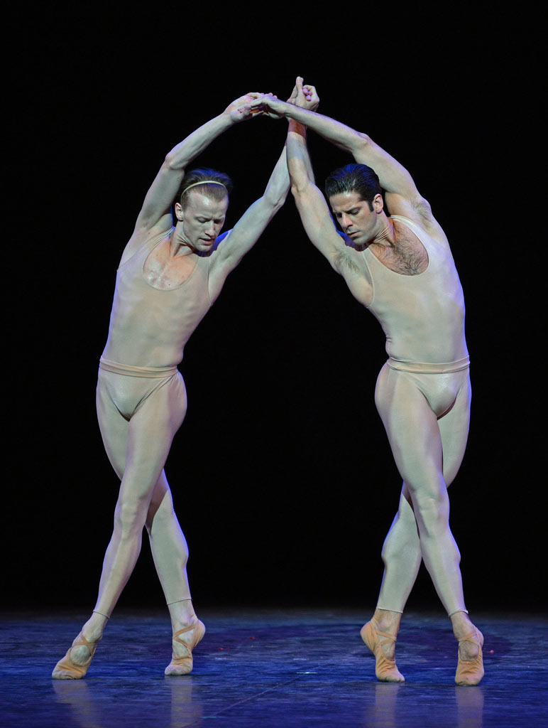 Denis Matvienko and Marcelo Gomes in Morel et Saint-Loup (from Proust).© Dave Morgan. (Click image for larger version)