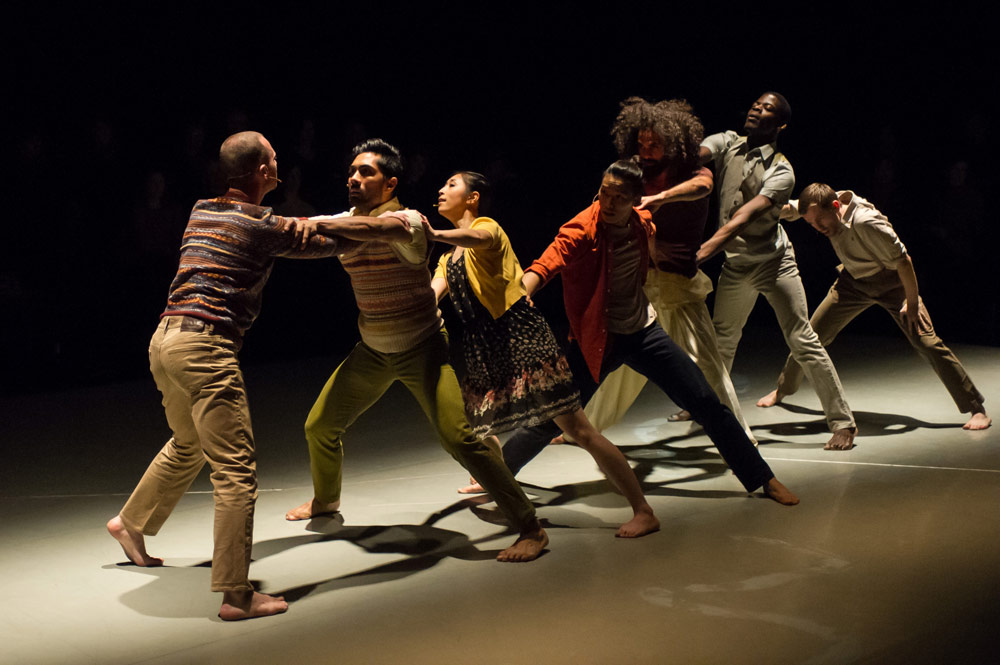 Protein Dance in <I>Border Tales</I>.<br />© Jane Hobson. (Click image for larger version)