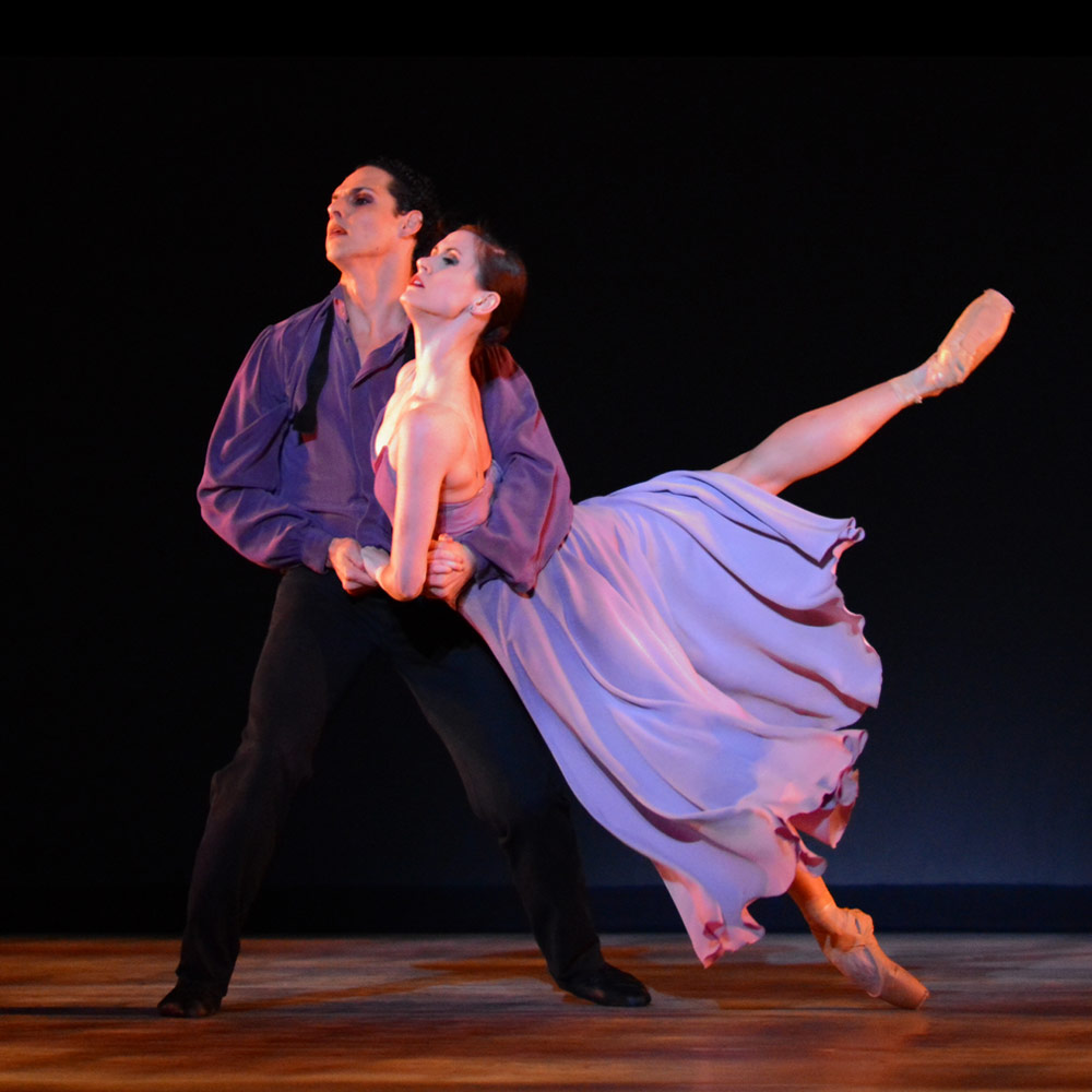 Luis R. Torres and Aurora Dickie in Christopher Wheeldon's <I>There Where She Loved</I>.<br />© Paul Wegner. (Click image for larger version)