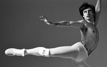 Sergei Polunin.© Bryan Adams. (Click image for larger version)