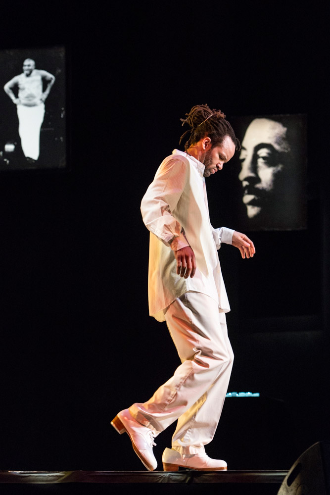 Savion Glover in SoLe Sanctuary.© Foteini Christofilopoulou. (Click image for larger version)