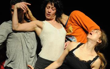 Les ballets C de la B in Alain Platel's tauberbach.© Les ballets C de la B. (Click image for larger version)
