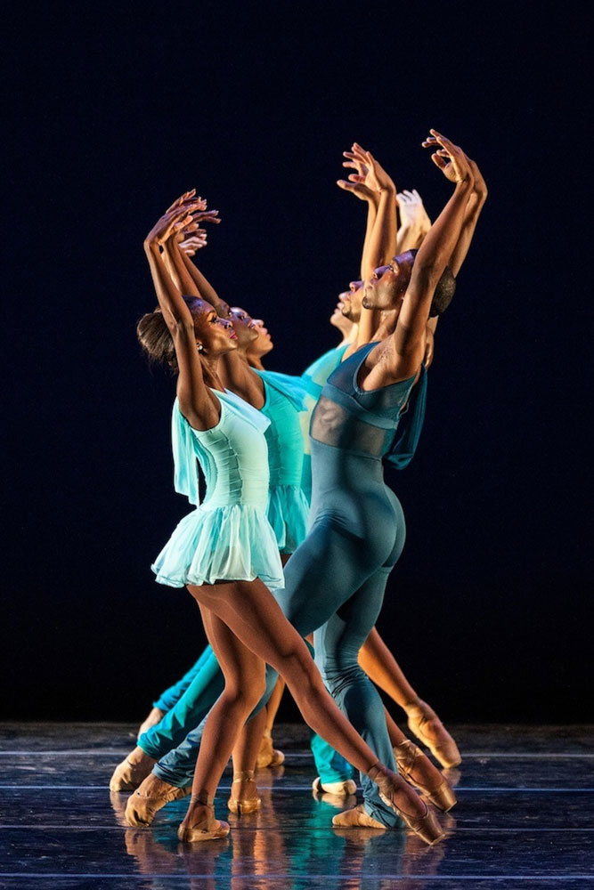Dance Theatre of Harlem in Gloria.© Matthew Murphy. (Click image for larger version)