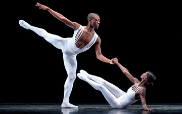 Davon Doane and Ashley Murphy in Dancing on the Front Porch of Heaven.© Rachel Neville. (Click image for larger version)