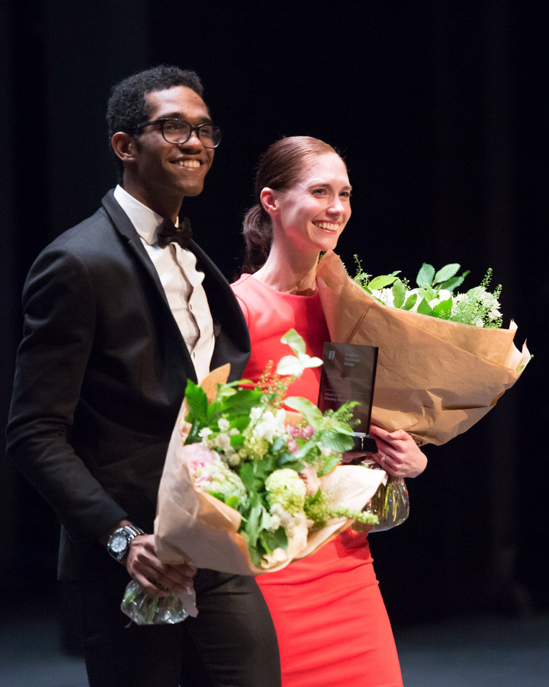 """Alison McWhinney and Junor Souza - winners of the 2014 Emerging Dancer Competition.<br />© <a href=""""http://www.balletphotography.co.uk/"""">ASH</a>. (Click image for larger version)"""