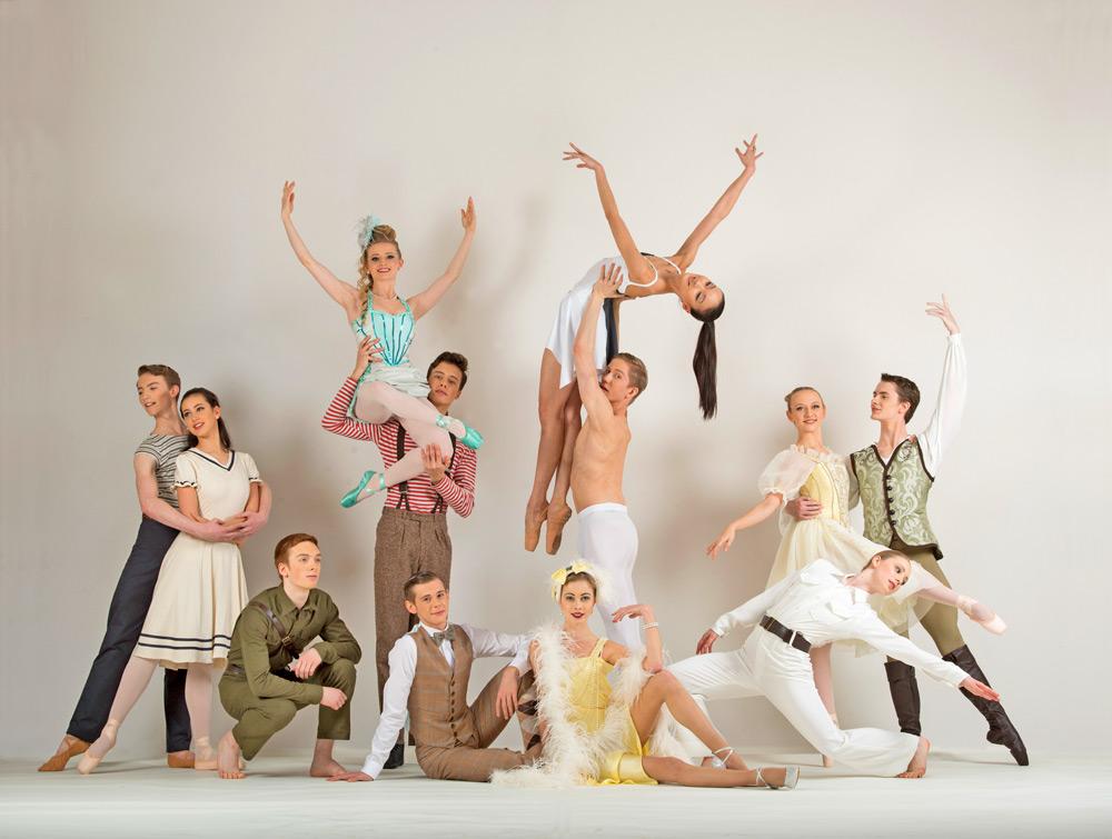 Publicity shot for Ballet Central 2014 tour.<br />© Bill Cooper. (Click image for larger version)