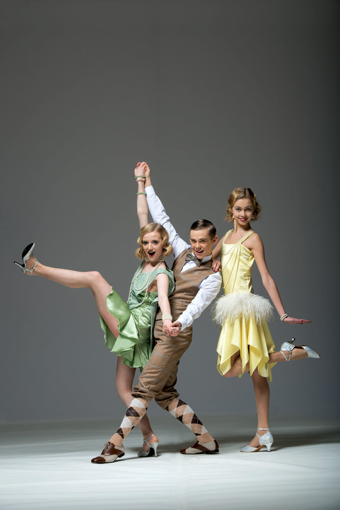 Zoe White, John O'Gara and Alice Handford in Leanne King's Toots Goes to Charleston.© Bill Cooper. (Click image for larger version)