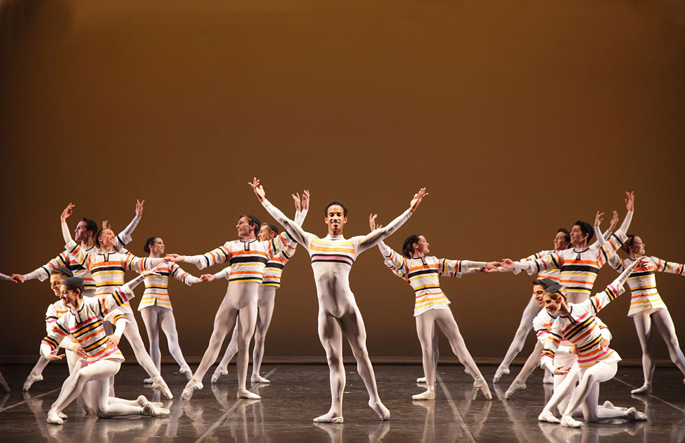 Sarasota Ballet in Frederick Ashton's Sinfonietta.© Frank Atura. (Click image for larger version)