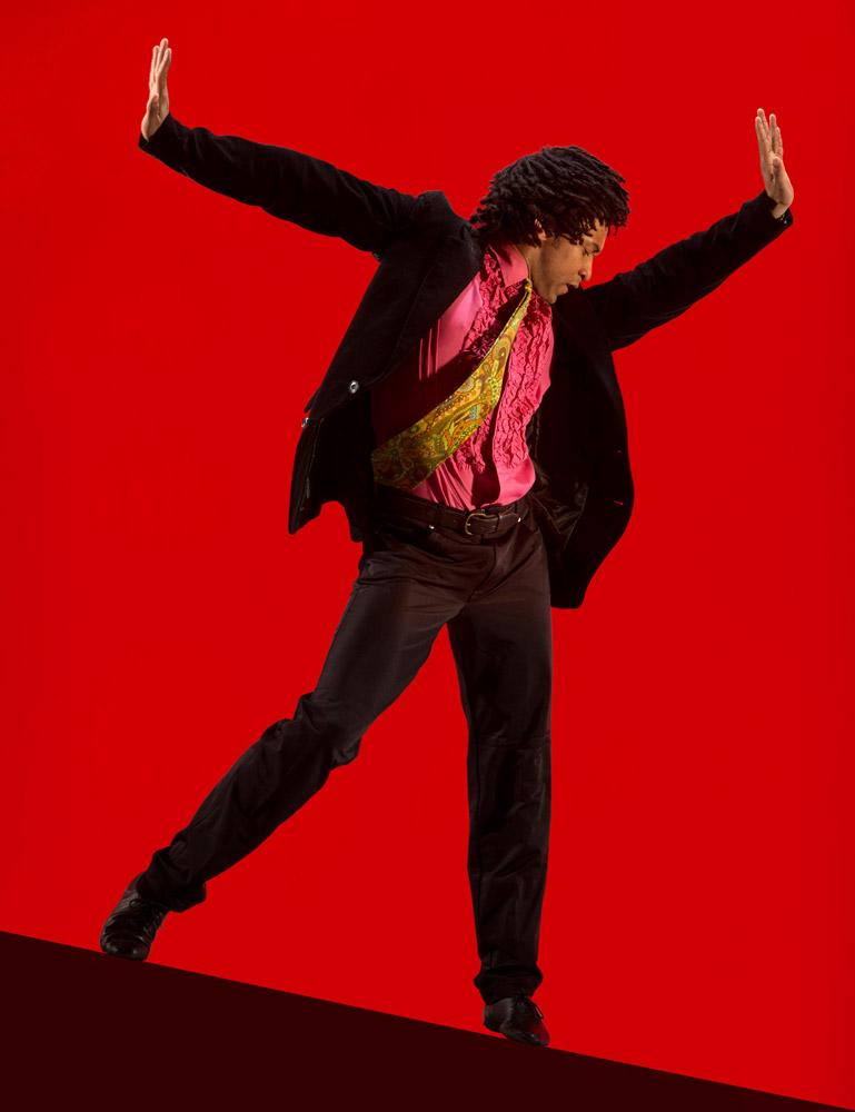 Miguel Altunaga in Christopher Bruce's Rooster.© Hugo Glendinning. (Click image for larger version)