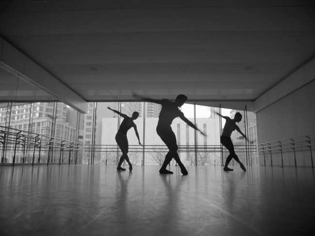 Still image from the NYCB promotional video for Justin Peck's Everywhere we go.© NYCB. (Click image for larger version)