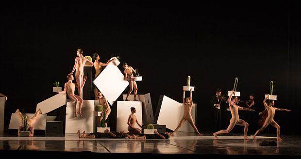 Boston Ballet in Alexander Ekman's <I>Cacti</I>.<br />© Rosalie O'Connor. (Click image for larger version)